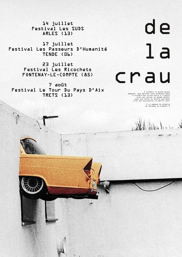 Concerts juillet DE LA CRAU